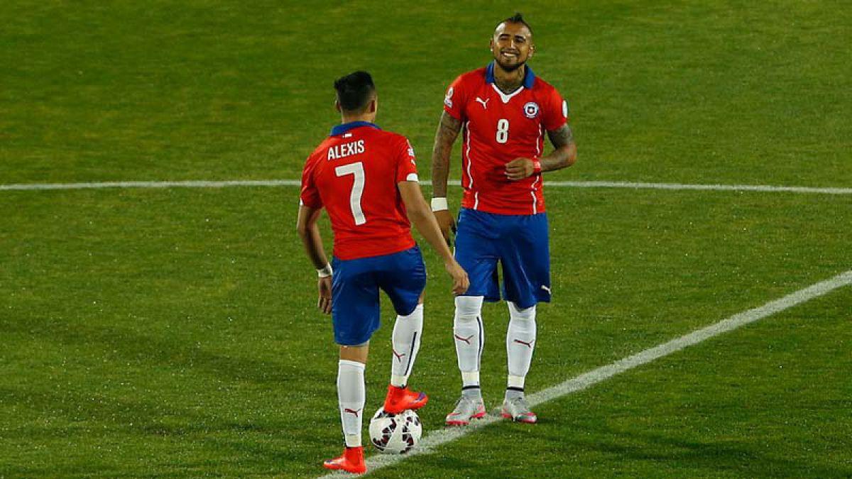 Estos son los números que lucirán los jugadores de la Roja en los duelos ante Brasil y Perú
