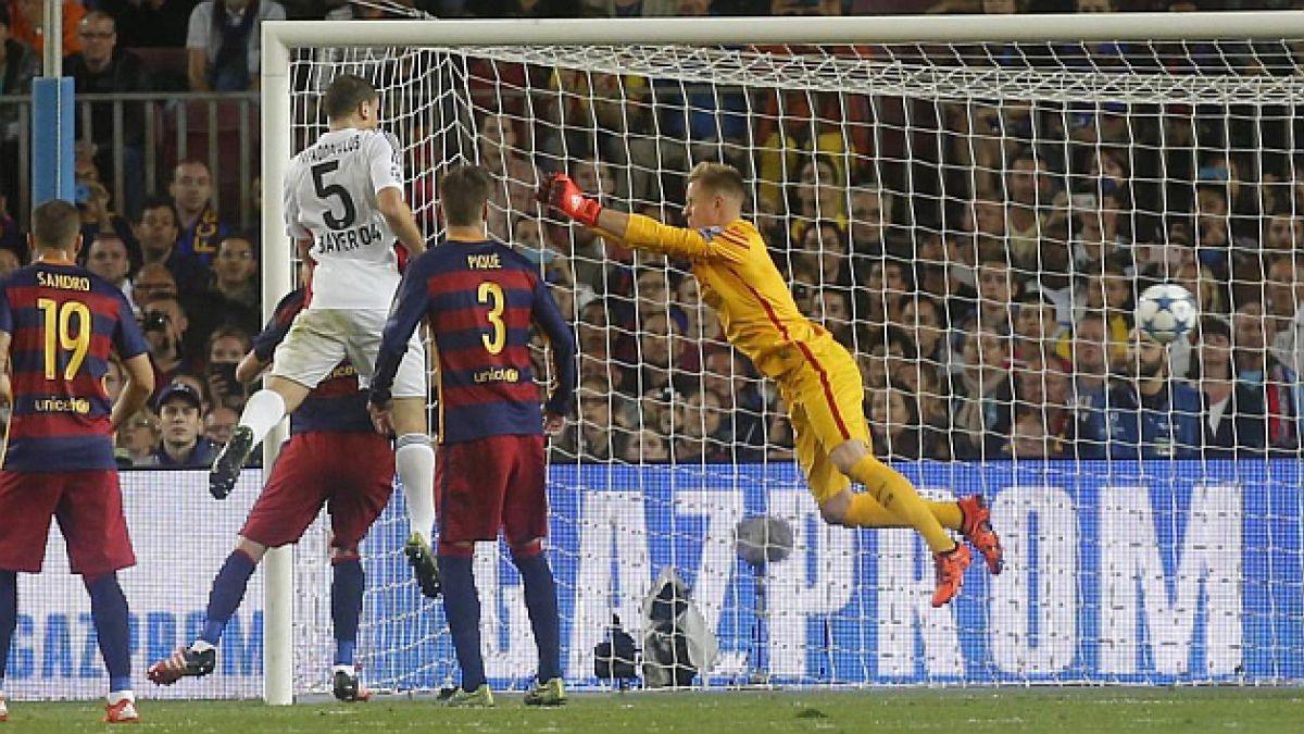 """Prensa hispana habla que Ter Stegen """"volvió a comerse un gol"""""""