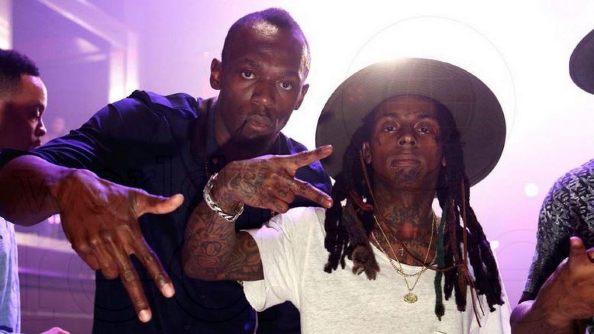 La desenfrenada noche de Usain Bolt en el cumpleaños de Lil Wayne