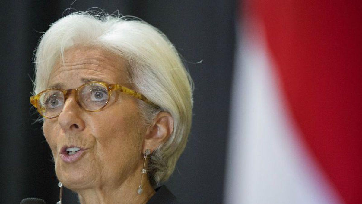 Directora del FMI dice que hay que estar preocupados por la economía mundial