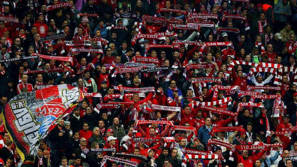 Los hinchas extranjeros de la Bundesliga