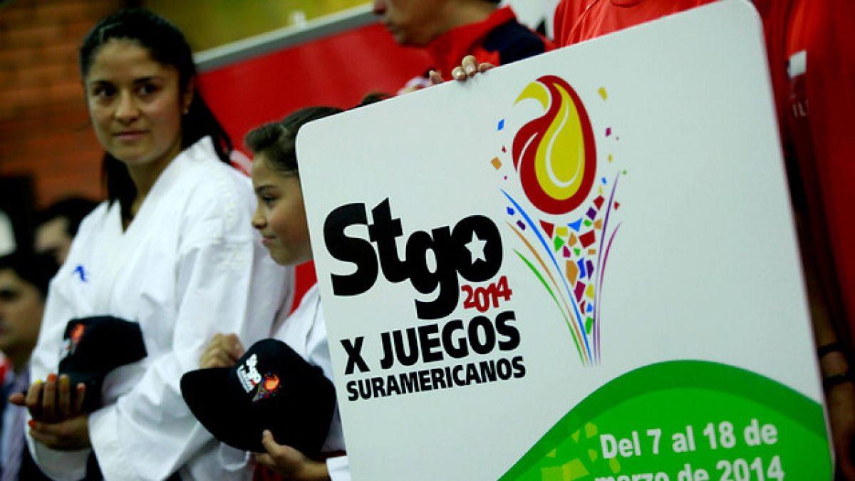 Contraloría objeta más de $4.000 millones en rendición por Juegos Sudamericanos Santiago 2014