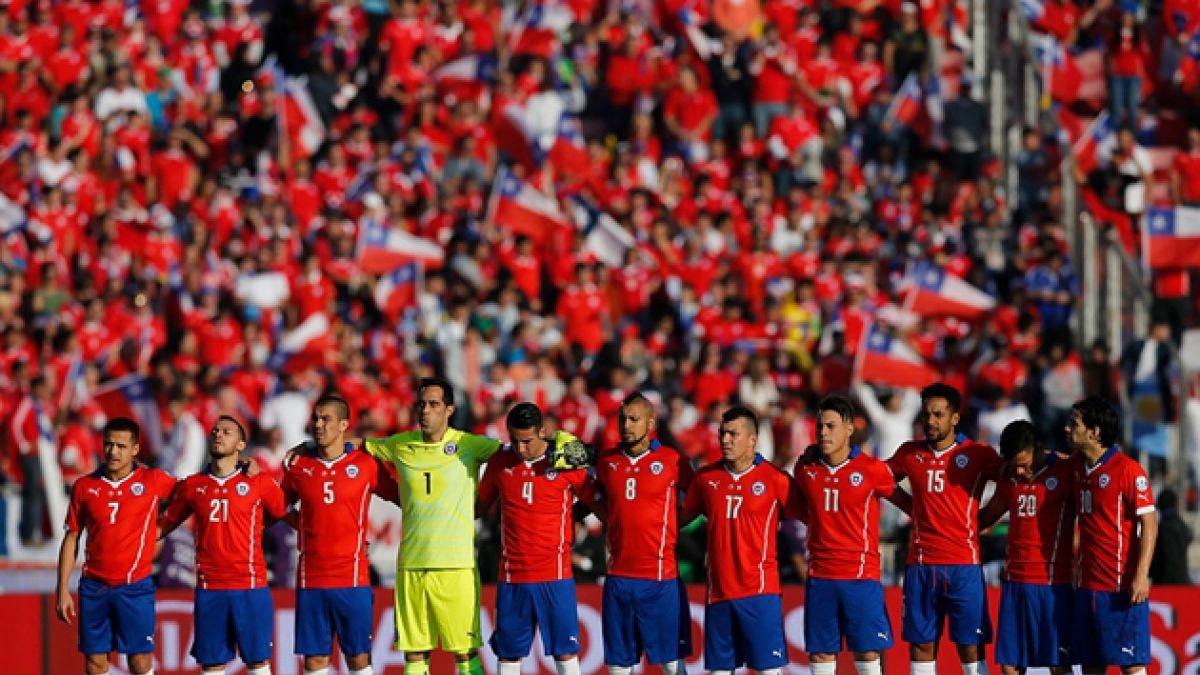 Ránking FIFA: Chile retrocede y comenzará Clasificatorias en noveno lugar