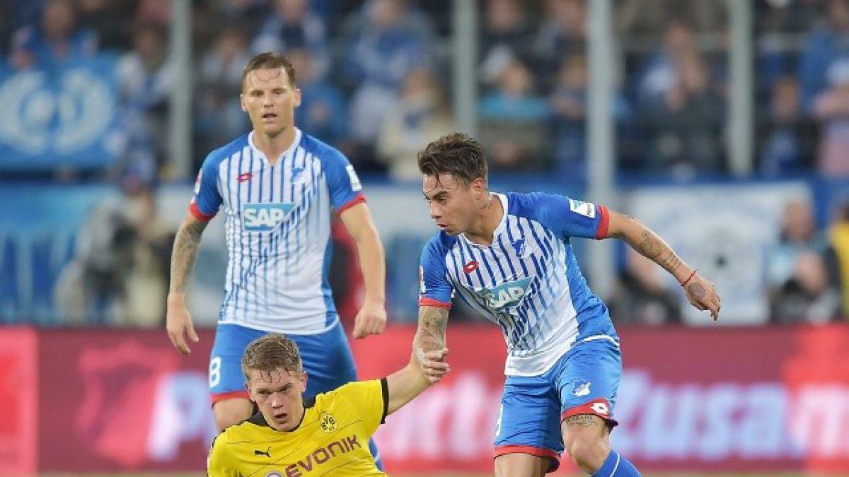 """DT de Hoffenheim alerta a la """"Roja"""": Vargas tiene el tobillo hinchado"""""""