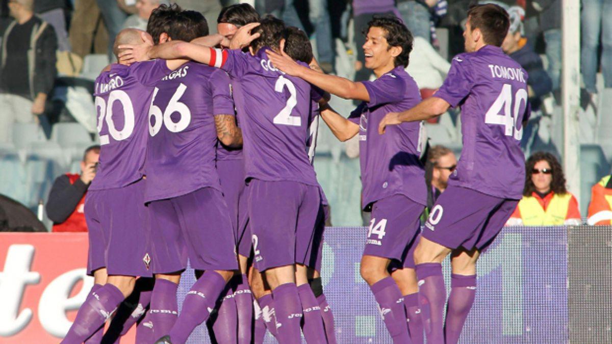 Con Matías Fernández la Fiorentina golea en Portugal por Europa League