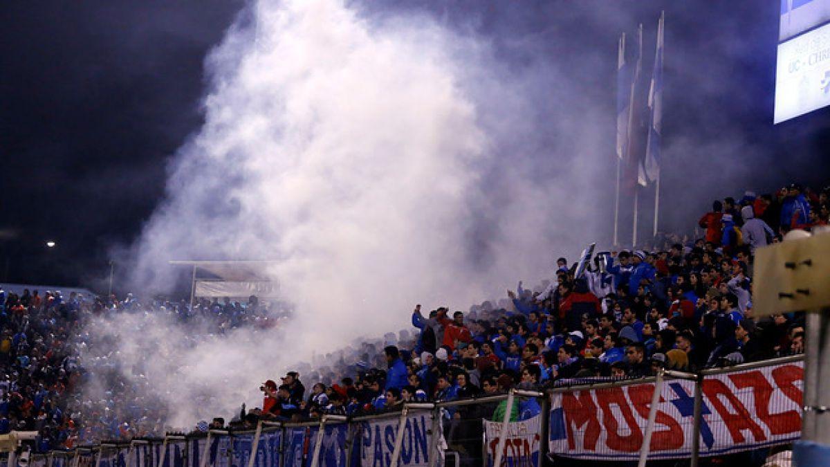 Universidad Católica le prohíbe el ingreso a 155 personas para el clásico ante Colo Colo