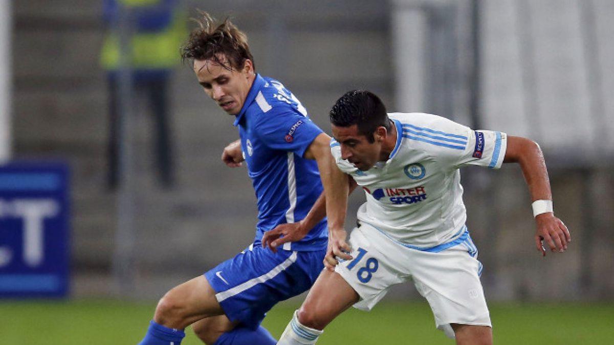 Marsella de Mauricio Isla sufre inesperada derrota ante Slovan Liberec por la Europa League