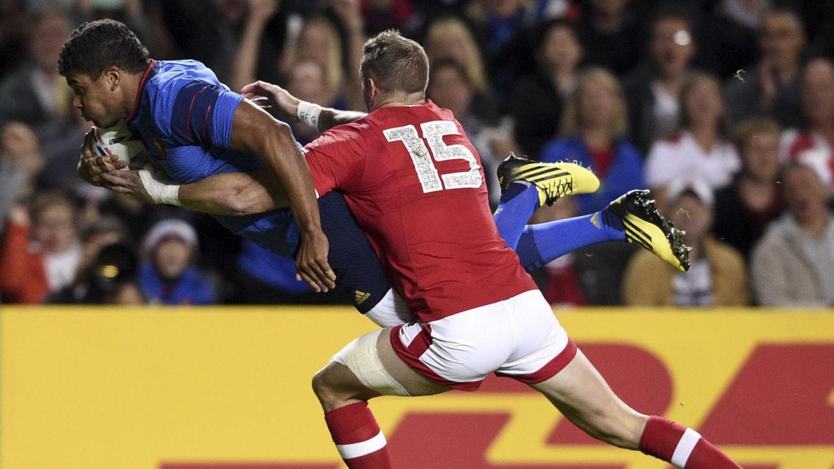 Francia es primer clasificado a cuartos en Mundial de rugby