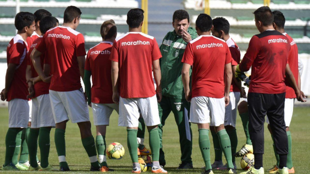 """Preparen, apunten... fuego"": Bolivia practica tiro al blanco para afrontar las Clasificatorias"