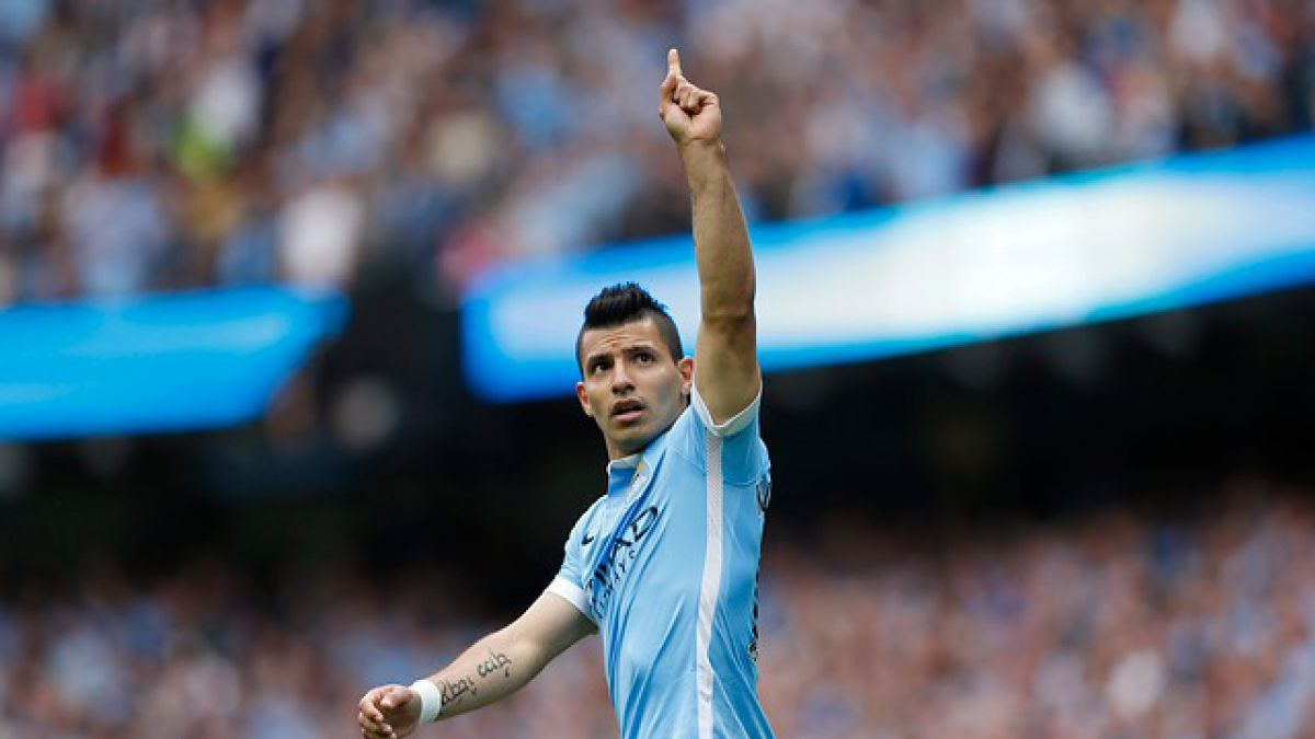 "El City de Pellegrini golea al Newcastle con un ""iluminado"" Sergio Agüero"