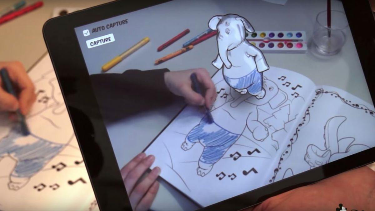 Disney creó libros para colorear en 3D | Tele 13