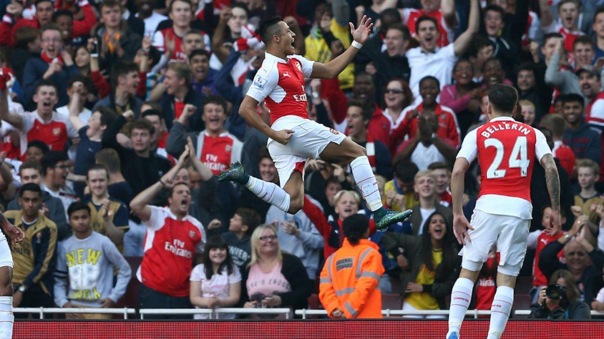 [VIDEO] Alexis marca dos golazos en el duelo entre Arsenal FC y Manchester United