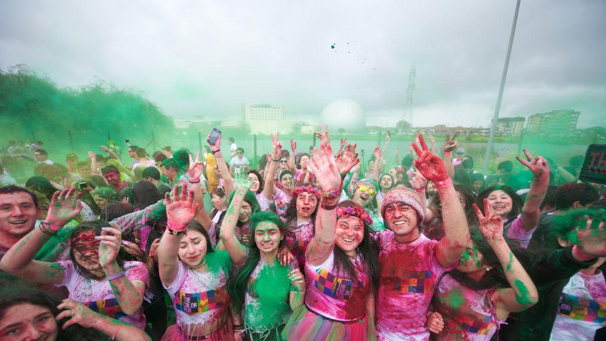 Primera corrida The Color Run en Talcahuano reúne a 8 mil personas