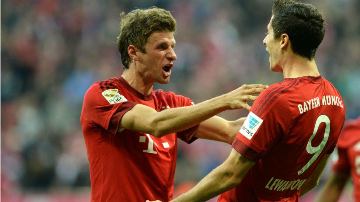 Bayern Munich aplasta al Borussia Dortmund y continúa con su invicto en la Bundesliga