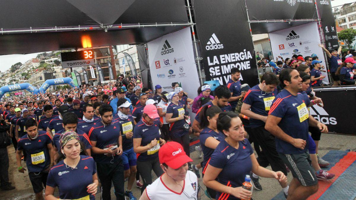 Correr por el borde costero: Maratón Internacional de Viña del Mar