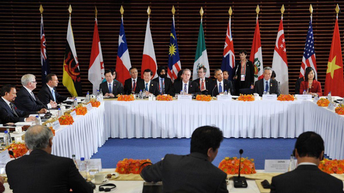 Chile, Australia, Brunei, Canadá, Chile, Japón, Malasia, México, Nueva Zelanda, Perú, Singapur, EEUU y Vietnam sellaron este lunes un acuerdo para crear la mayor zona de libre comercio de la historia.   El Acuerdo de Asociación Transpacífico (TPP, según s