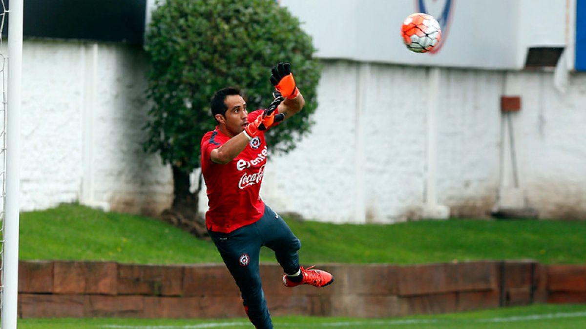 Objetivo Brasil: Claudio Bravo lidera el entrenamiento de Chile
