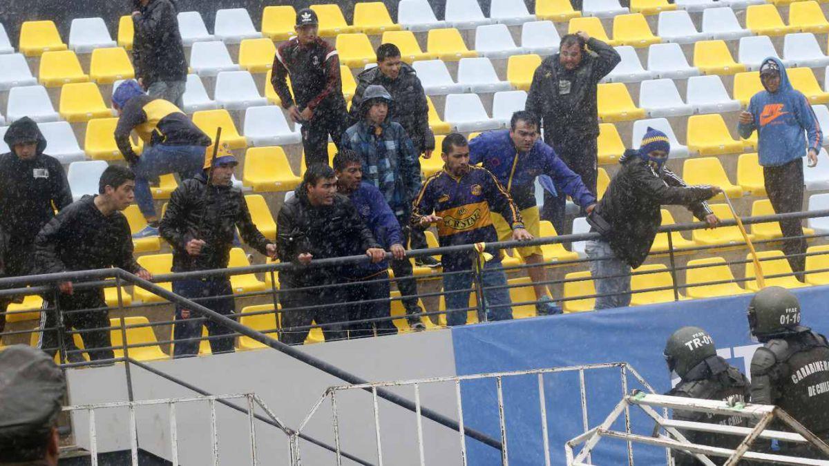 Everton contra Santiago Wanderers