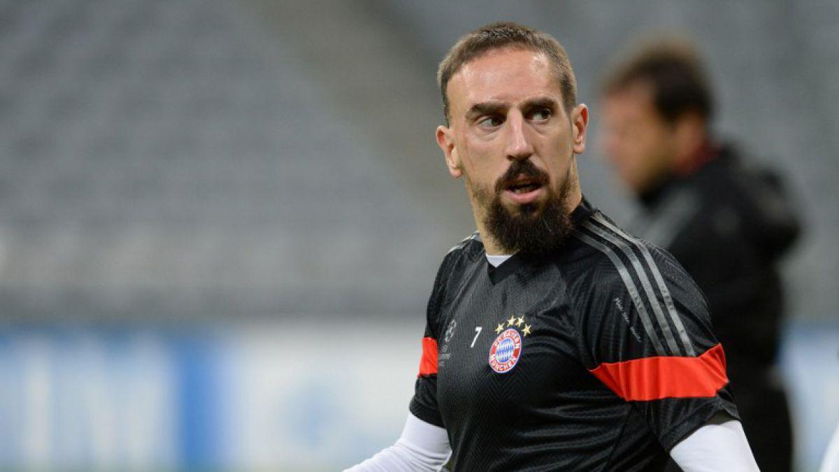 Franck Ribery se recupera de su lesión con una máquina de la NASA