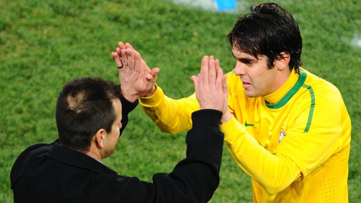 Experimentado Kaká lidera prenómina de Brasil para Copa América Centenario