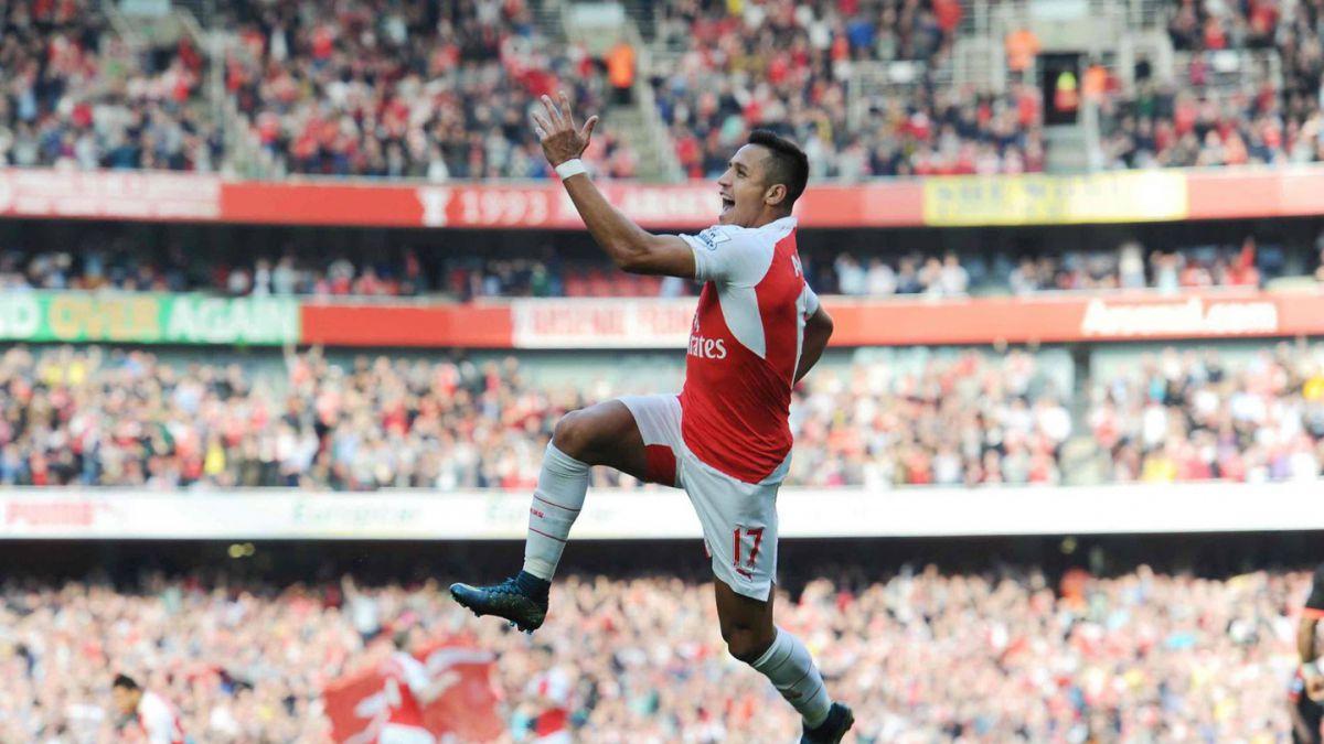 """Lateral del Arsenal sobre Alexis: """"Demostró que es un jugador importante para el equipo"""""""