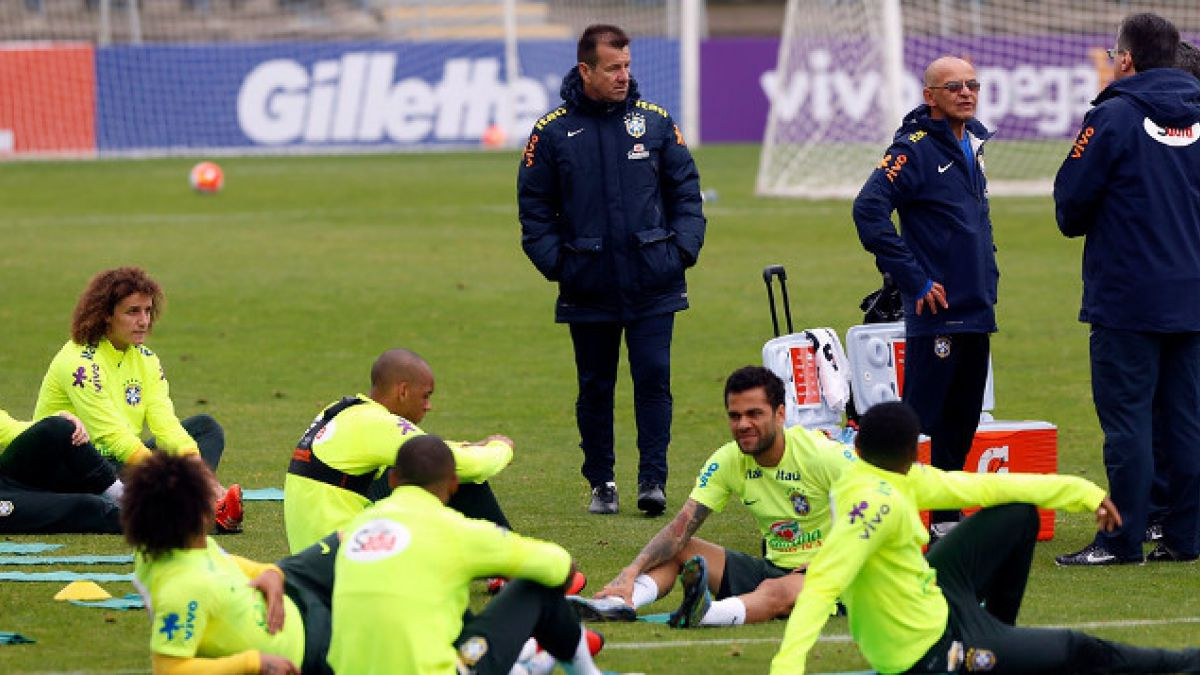 Dupla de campeones mundiales: las historias de Dunga y Cafú con Chile