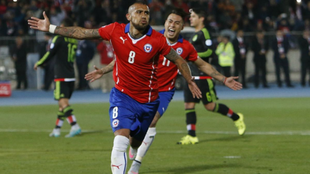 La rodilla de Arturo Vidal es la preocupación de La Roja ante Brasil