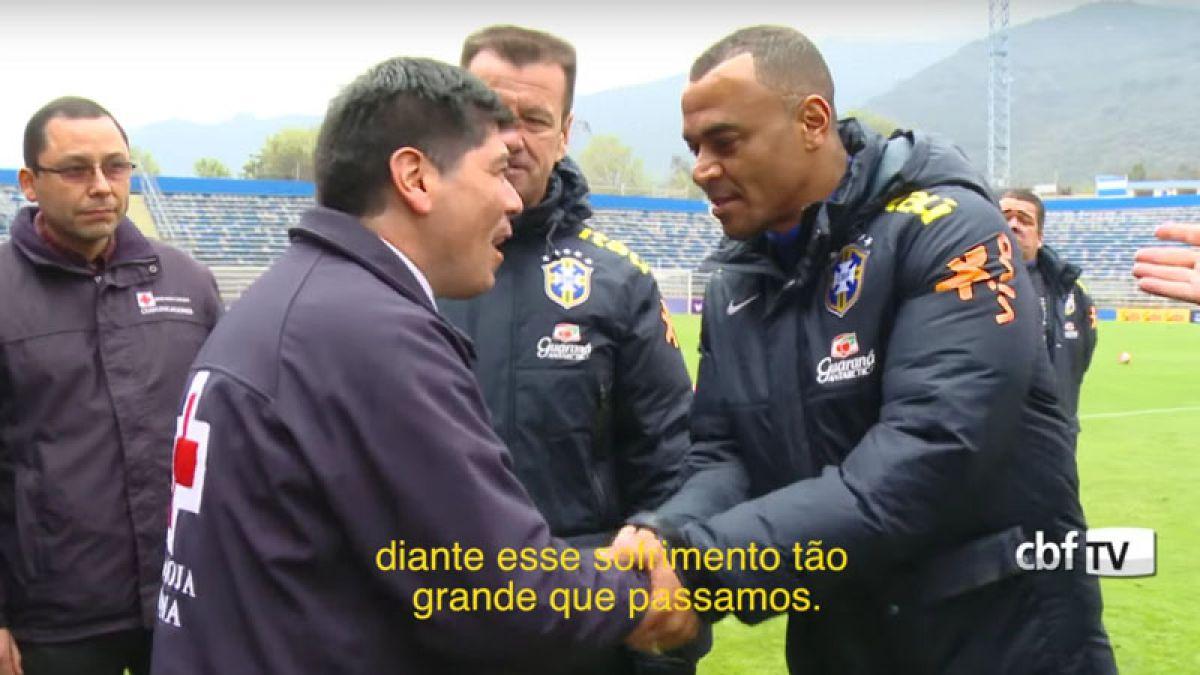 Solidario gesto: Brasil donará camisetas tras jugar con Chile para ayudar a víctimas del terremoto