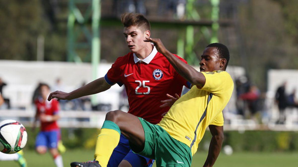"""La """"Roja"""" Sub 17 empata ante Sudáfrica en el penúltimo amistoso previo al Mundial"""