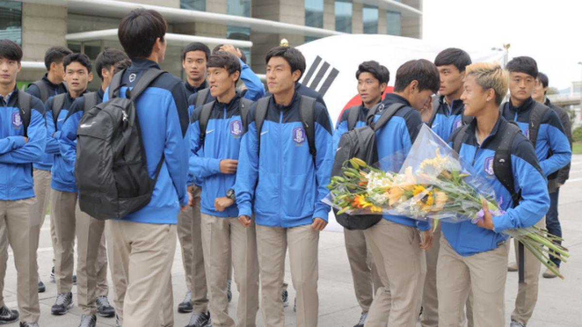 Mundial Sub 17: Corea llega a Chile