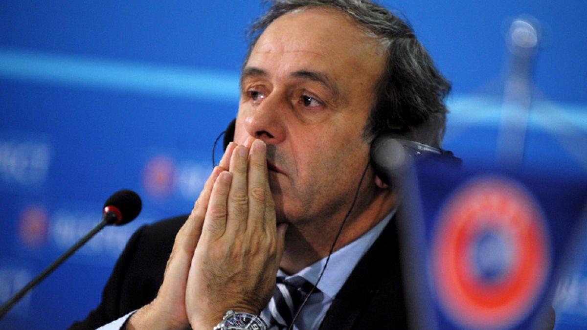 Platini fue defendido por su abogado ante tribunal de la FIFA
