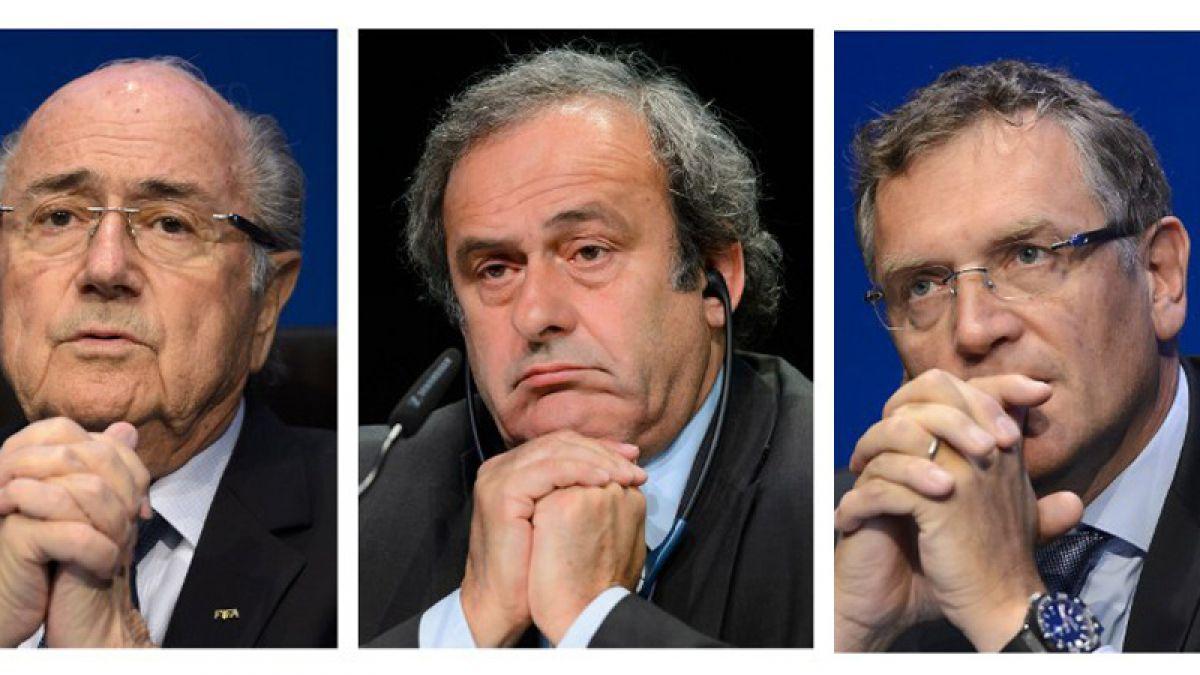 Blatter, Platini y Valcke: Las acusaciones contra los 3 suspendidos por FIFA