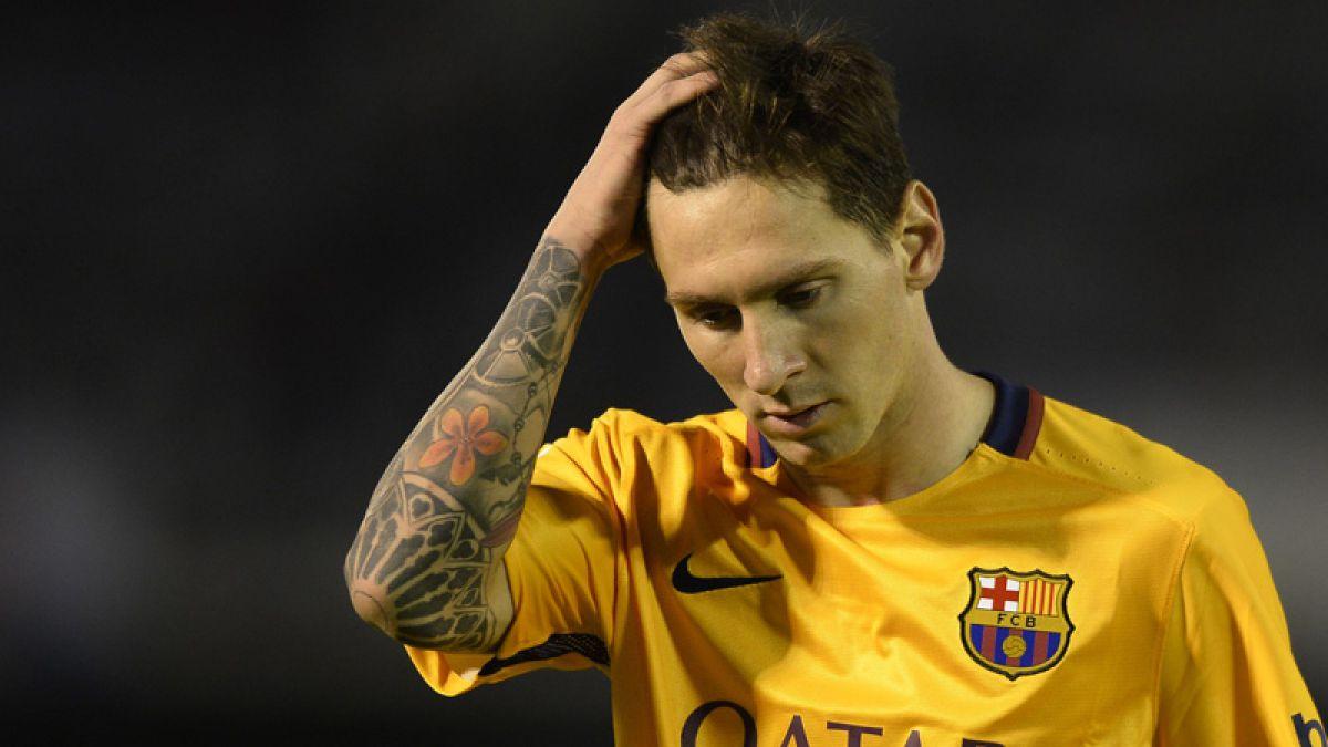 Lionel Messi será juzgado en España por fraude fiscal