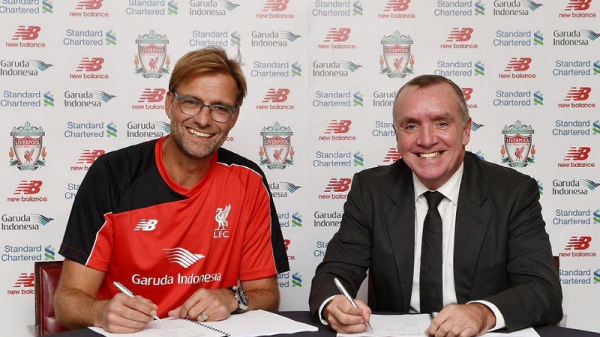 ¡Se confima! Jurgen Klopp asume como nuevo entrenador del Liverpool