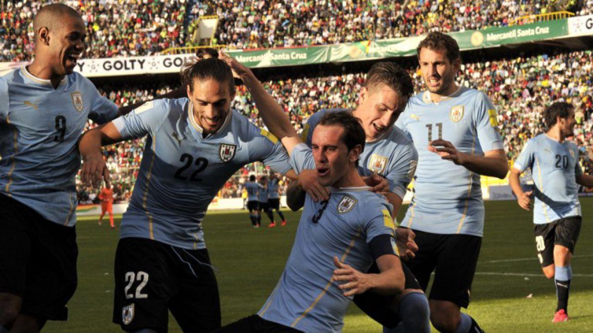 Uruguay vence por primera vez a Bolivia en La Paz por Clasificatorias
