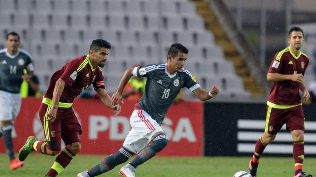 Paraguay sorprende a Venezuela y comienza ganando en Clasificatorias