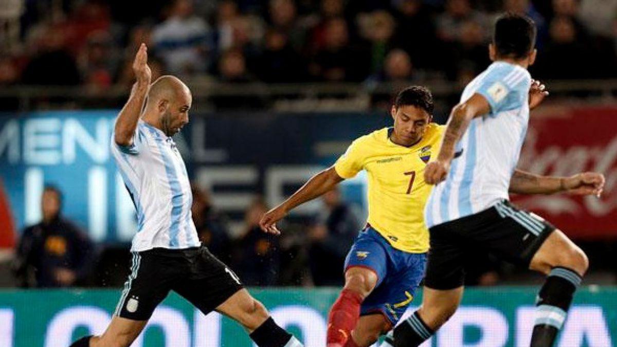 [Minuto a Minuto] Argentina está perdiendo  ante Ecuador por las Clasificatorias