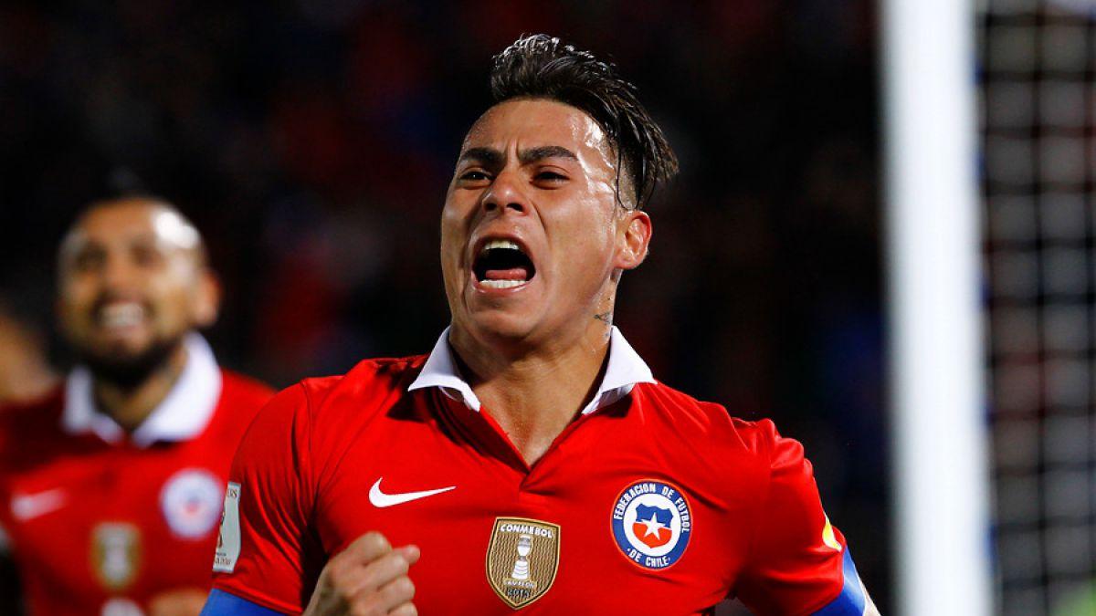 Así se celebraron los dos goles de Chile ante Brasil en el Estadio Nacional