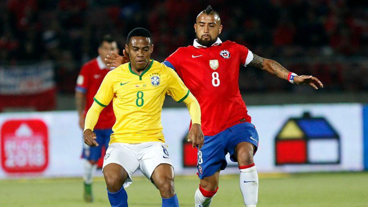 El uno a uno de Chile en el triunfo sobre Brasil
