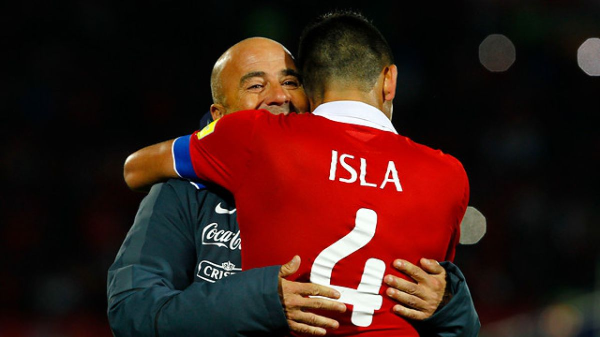 """Sampaoli: """"Este triunfo posiciona a Chile en altos niveles de respeto del fútbol mundial"""""""