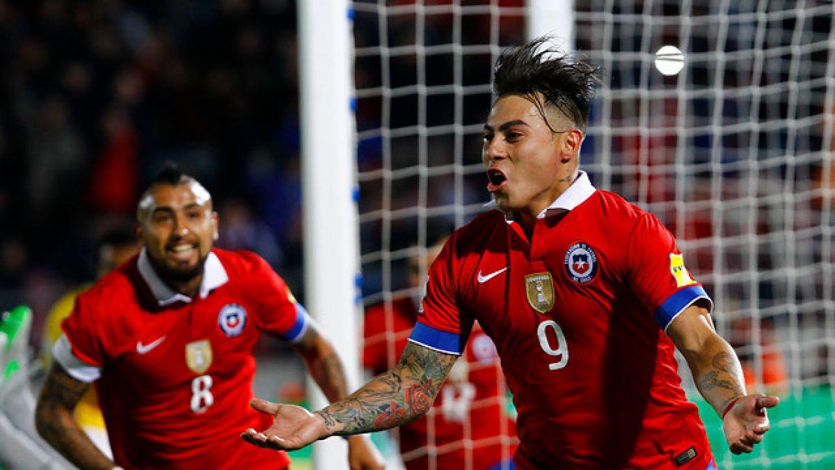 """Edu Vargas se confirma como máximo goleador Chile en la """"Era Sampaoli"""""""