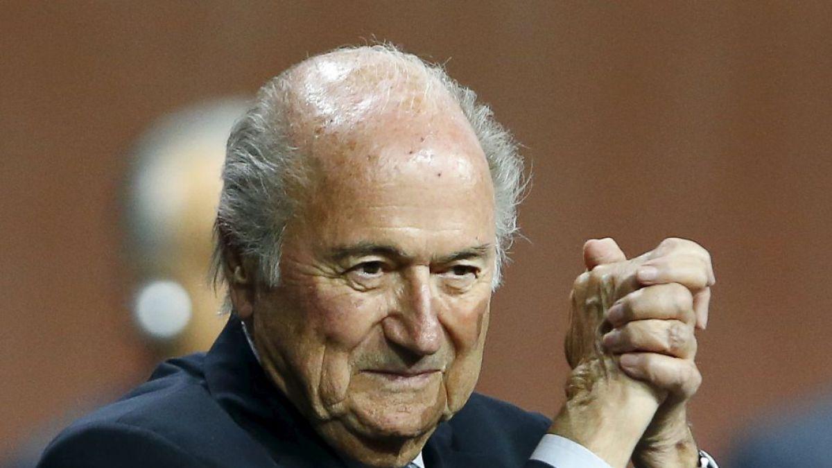Blatter apela suspensión de la FIFA
