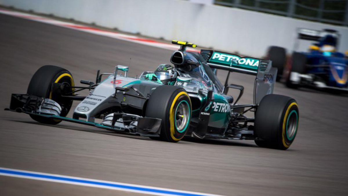 F1: Nico Rosberg gana la pole en el GP de Rusia