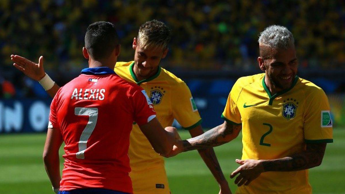 Neymar no vio el debut de Brasil y apuntó: Era difícil contra Chile