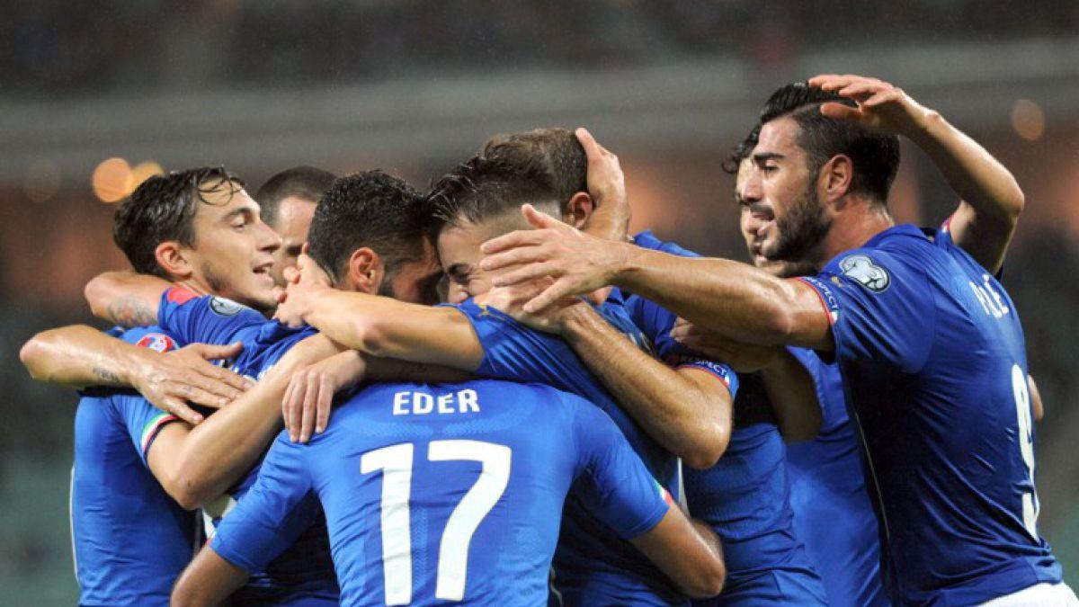 ¡Ya son 10 los clasificados! Italia gana y logra pasajes a la Eurocopa 2016