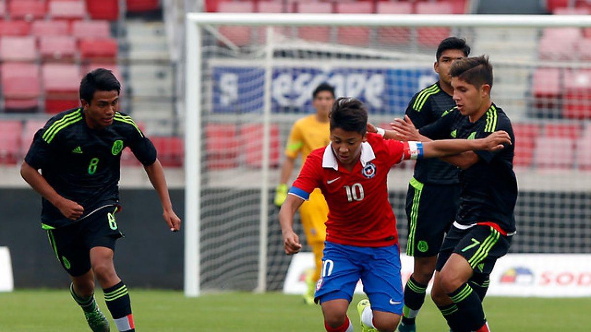 """La """"Roja"""" Sub 17 cierra preparación para el Mundial chocando con Inglaterra"""