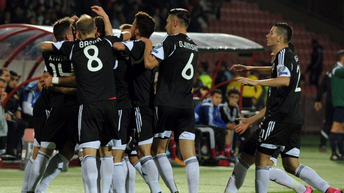Albania hace historia al clasificar por primera vez a la Eurocopa 2016