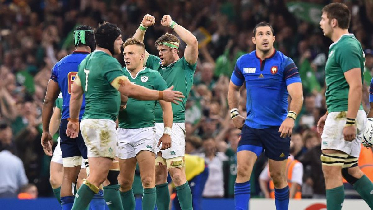 Así quedaron las llaves de los cuartos de final del Mundial de Rugby