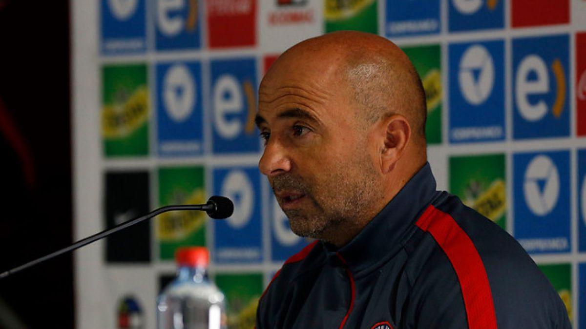 Sampaoli apunta a motivado Perú y confirma titularidad de Vidal junto a Medel