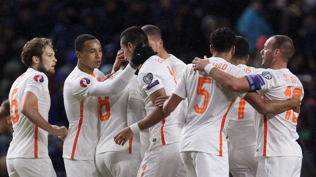 """Holanda se aferra """"al milagro"""" para acceder al repechaje de la Eurocopa 2016"""